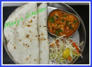 rice flour bhakri