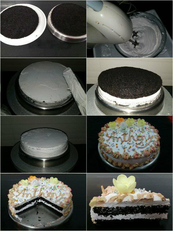 Monginis Eggless Dark Chocolate Cake Mary S Kitchen