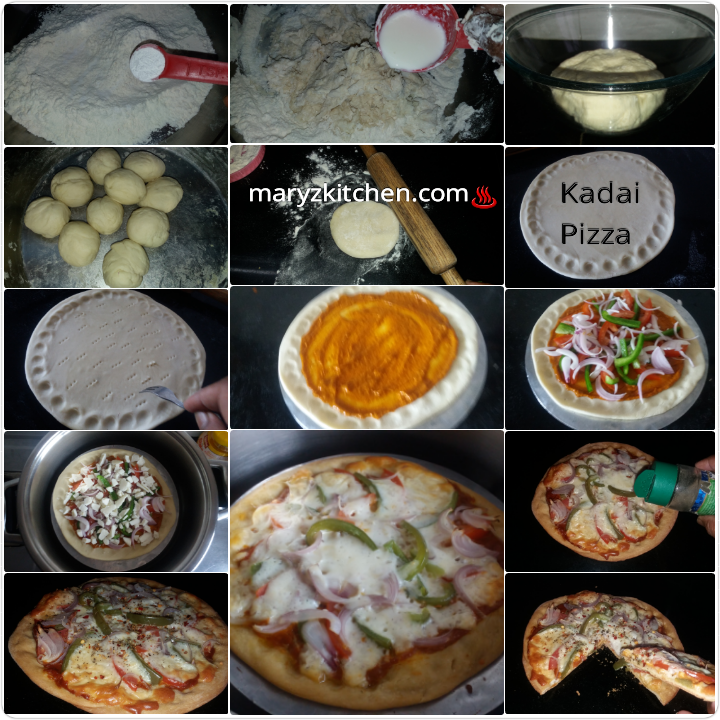 Pizza Without Yeast Without Oven Mary S Kitchen