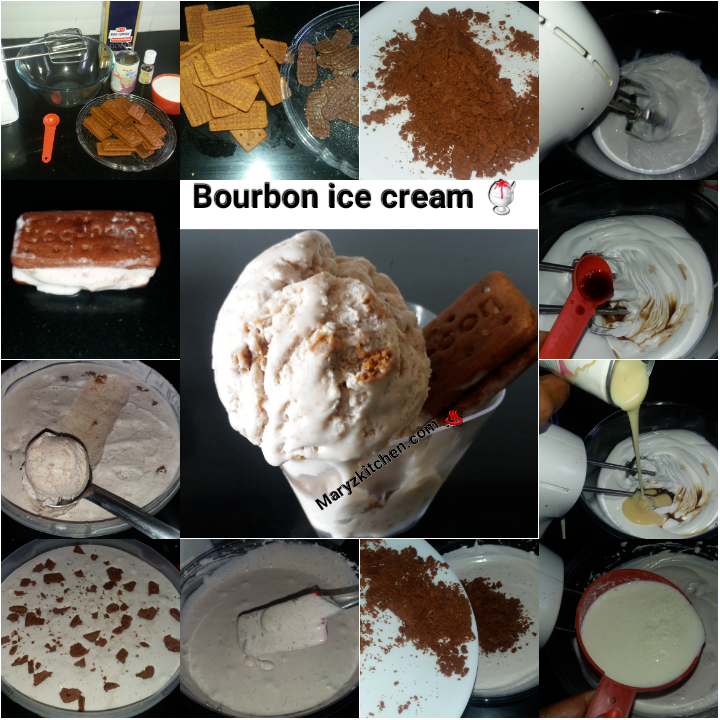 Bourbon ice cream - Mary's Kitchen